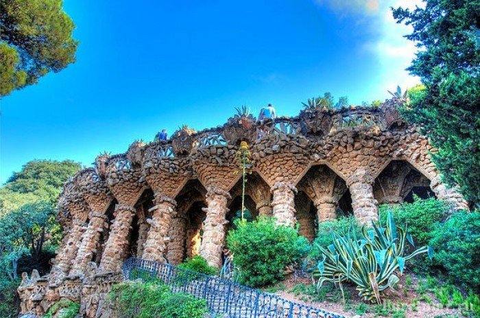 Парк Гуэля, Барселона - фото 14