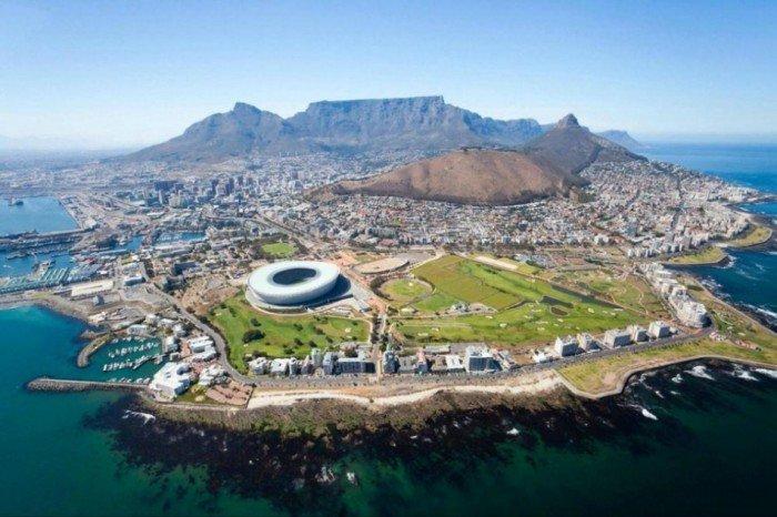 Рейтинг найкрасивіших міст світу, фото Кейптаун