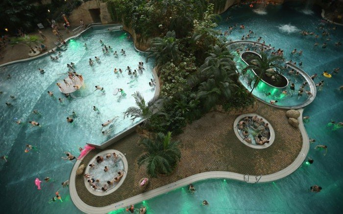 """Самый большой аквапарк в мире """"Тропические острова"""" (Германия), фото 2"""