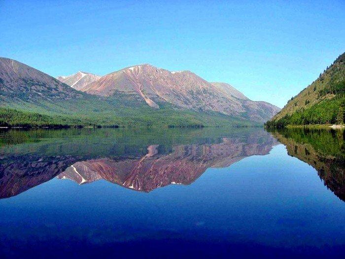 Самые красивые озера мира, фото - Байкал