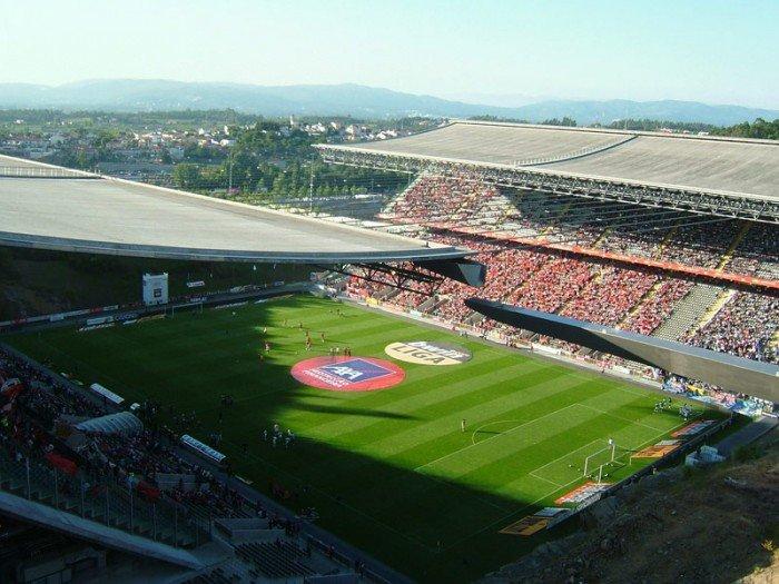 Найбільші стадони Європи для футболу - Брага