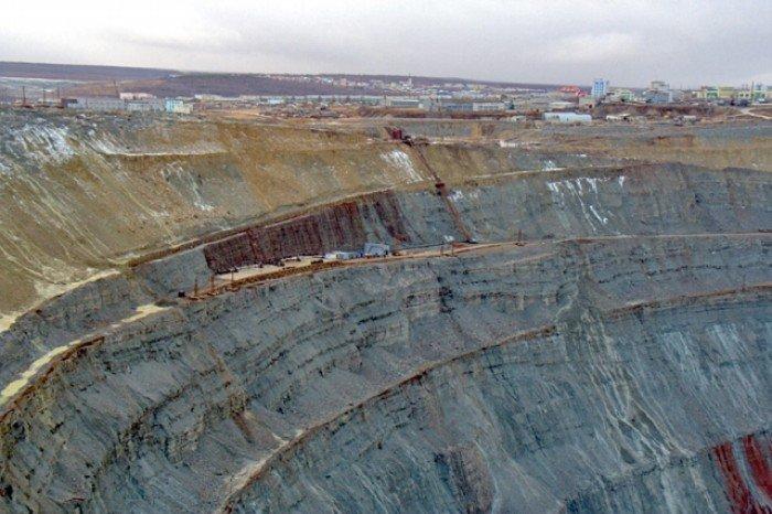 Алмазный карьер, Мирный (Якутия) - фото 7