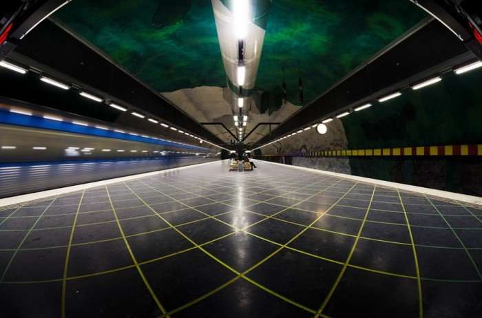Красивые станции метро в Стокгольме, фото 30