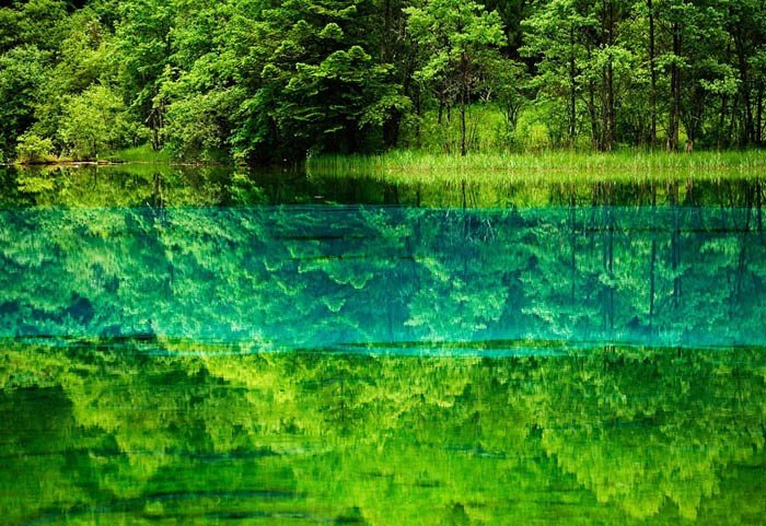 Самые красивые озера мира, фото 1 - Озеро Пяти Цветов
