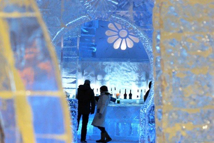 "Крижаний готель ""Hotel of Ice"" в Канаді - фото 3"