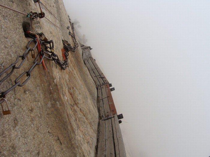 """""""Тропа смерти"""" в Китае - самая страшная тропа в мире. Фото 4"""