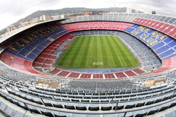 Найбільші стадони Європи для футболу - Барселона
