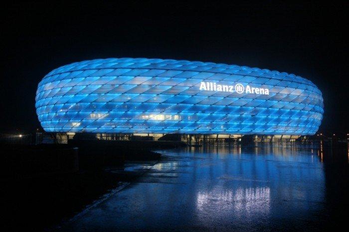 Найбільші стадони Європи для футболу - Мюнхен