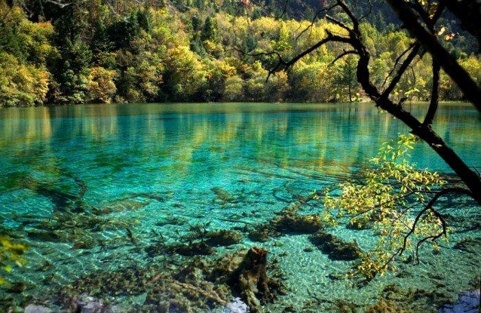 Самые красивые озера мира, фото 2 - Озеро Пяти Цветов