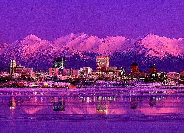 Самые удивительные и красивые места на Земле - Анкоридж, Аляска