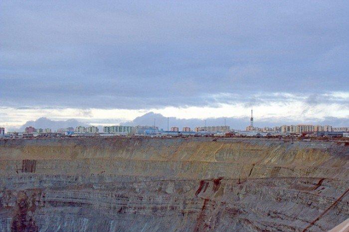 Алмазный карьер, Мирный (Якутия) - фото 9