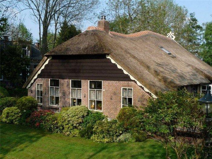 Гитхорн в Голландии - деревня, где нет дорог. Фото 5
