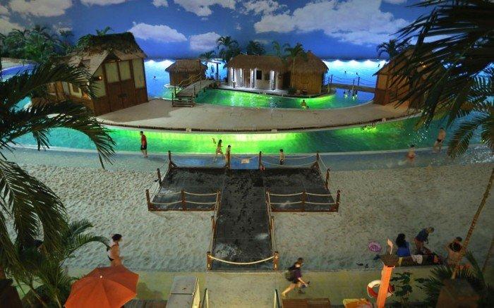 """Самый большой аквапарк в мире """"Тропические острова"""" (Германия), фото 4"""