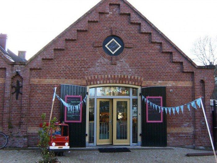 Незвичайний ресторан у Амстердамі - дитяче кафе «Kinderkookkafe», фото 1