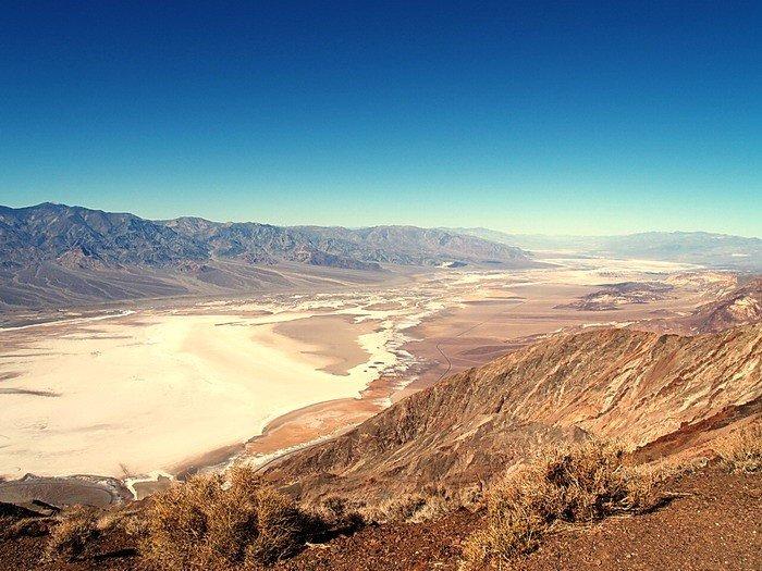 Самые жаркие точки мира, фото - Долина Смерти