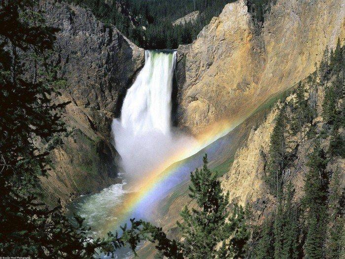 Красивые пейзажи природы. Фото - США, Еллоустоун