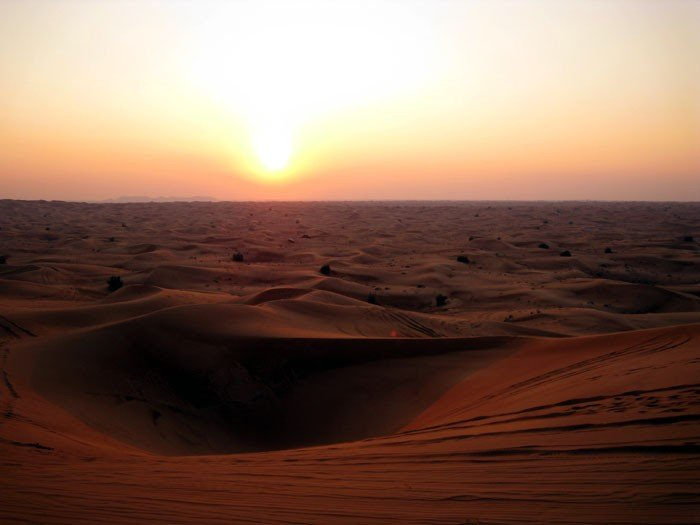 Самые жаркие точки мира, фото - Руб-эль-Хали