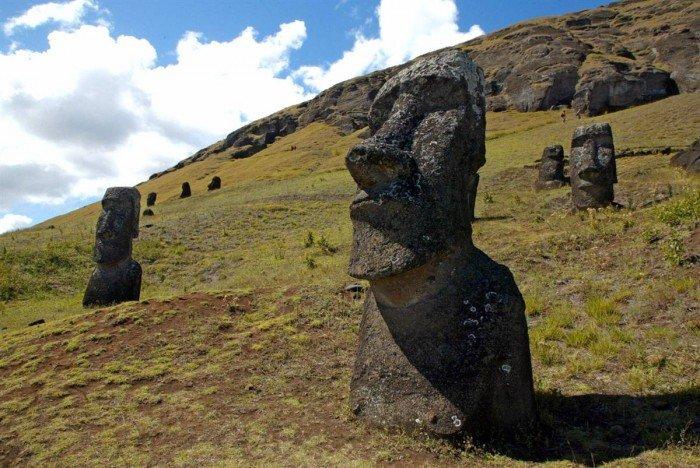 Всемирное наследие ЮНЕСКО, фото - Рапа-Нуи, остров Пасхи