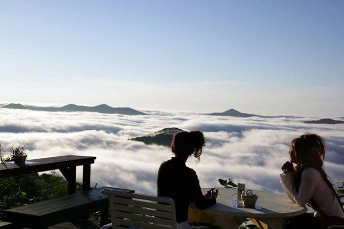 Красивые и интересные места Японии - Терраса Ункай, фото 8