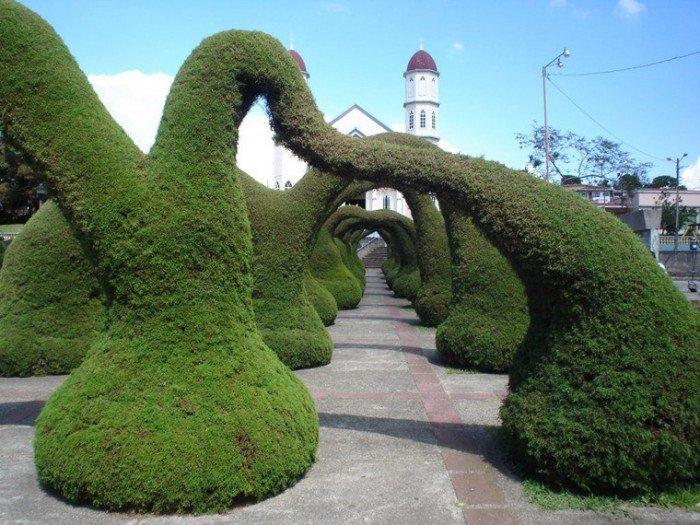 Самые красивые сады мира, фото - Парк Франциско Альварадо, Коста-Рика