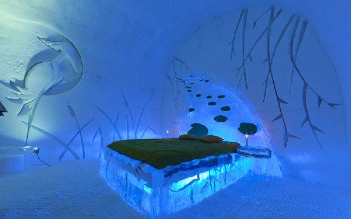 Отель изо льда в Канаде - фото 3
