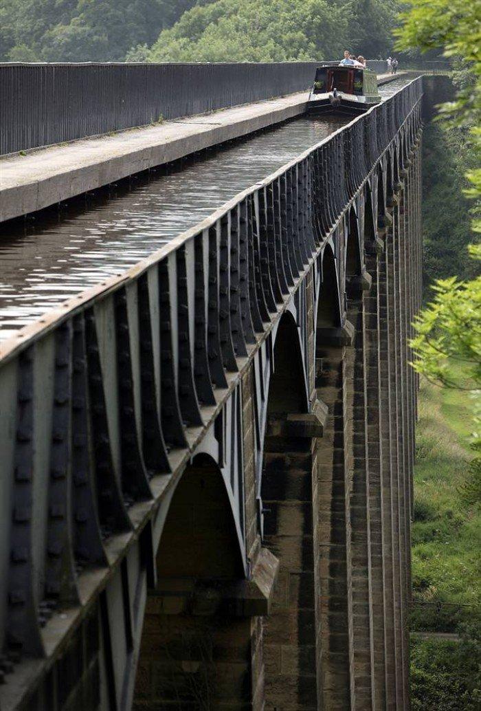 Всемирное наследие ЮНЕСКО, фото - акведук Понткесиллте