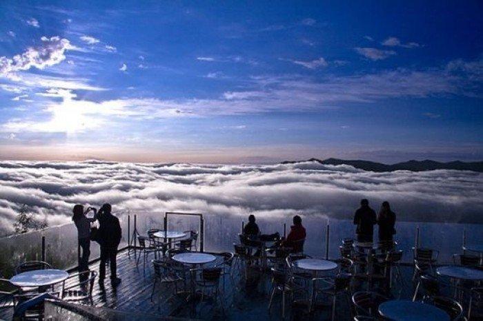 Красивые и интересные места Японии - Терраса Ункай, фото 1