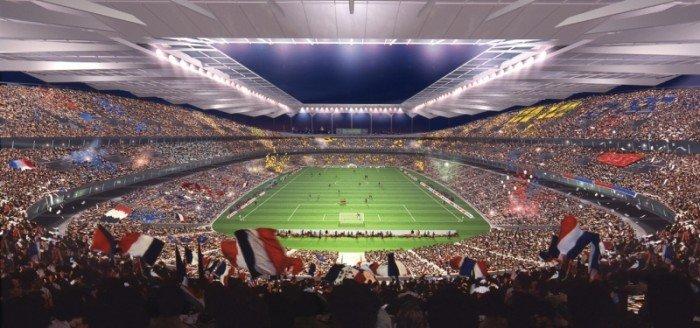 Найбільші стадони Європи для футболу - Париж