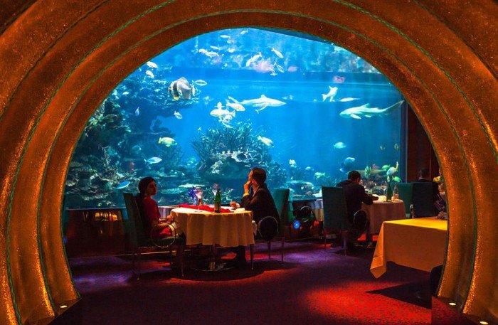 Ресторан акваріум «Аль Махара» в Дубаї, фото 8
