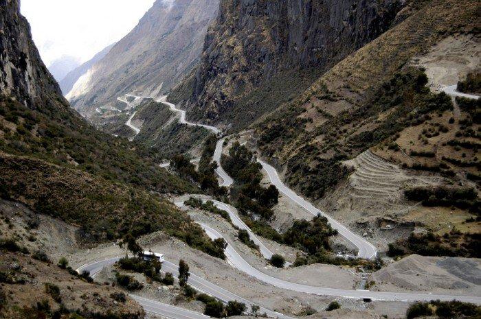 Найкрасивіші дороги світу - Перевал, Перу