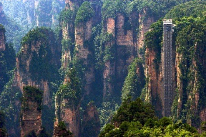 Лифт байлонг. Самый высокий лифт в мире, фото 1