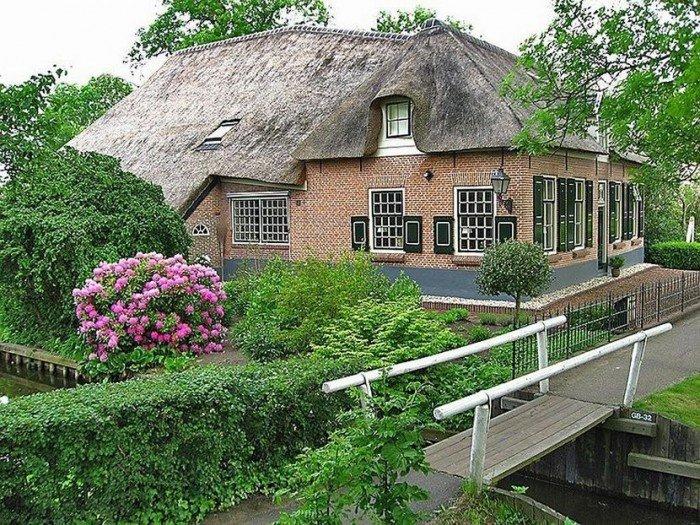 Деревня Гитхорн - Голландская Венеция, фото 5
