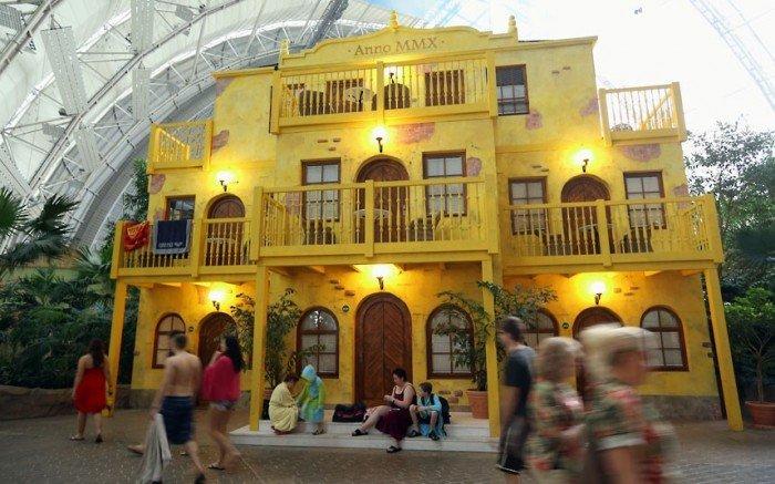 """Самый большой аквапарк в мире """"Тропические острова"""" (Германия), фото 12"""