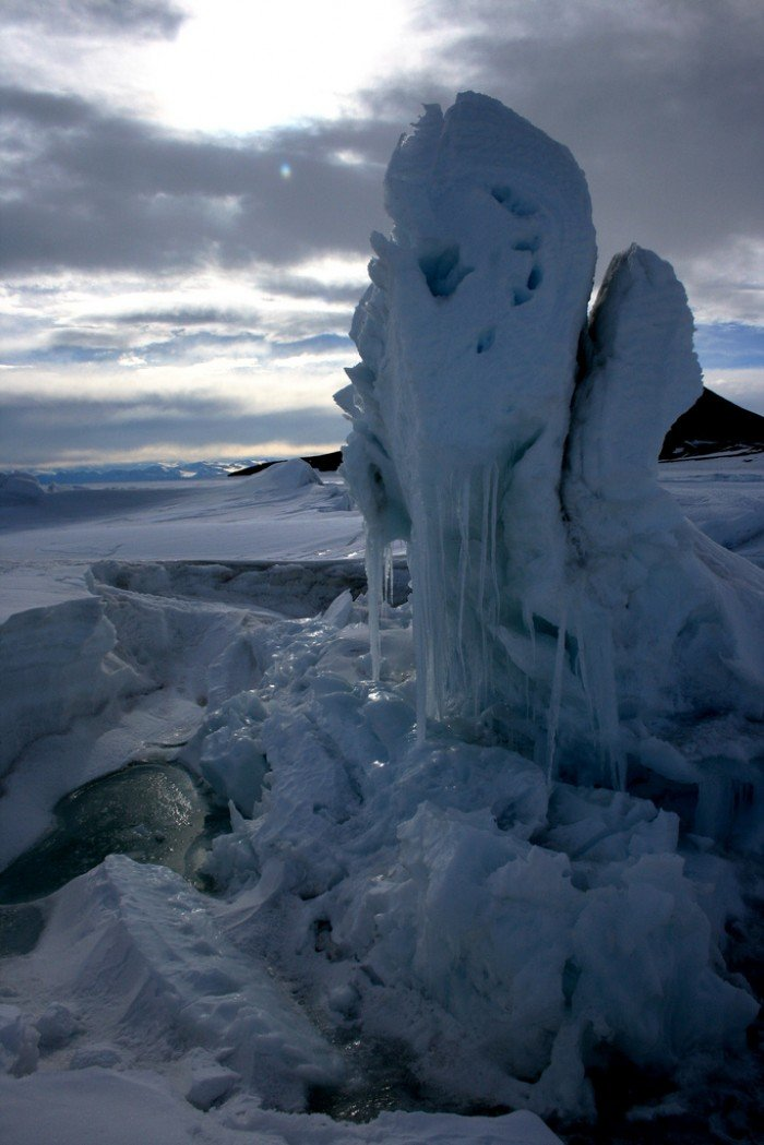 Тайны Антарктиды - время