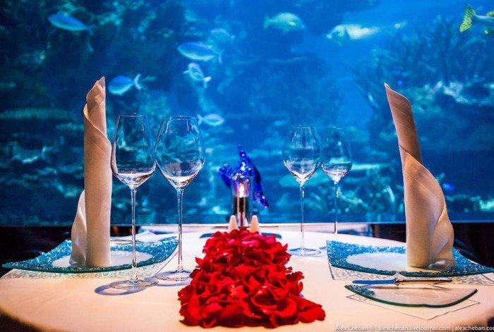Ресторан акваріум «Аль Махара» в Дубаї, фото 2