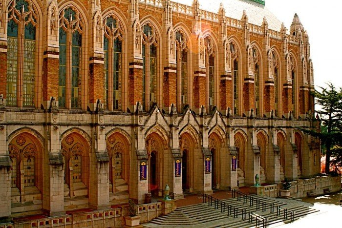 Знаменитые университеты мира, фото - Вашингтонский Университет