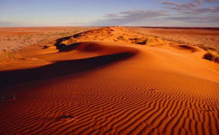 Самые жаркие точки мира, фото - Бедлендс