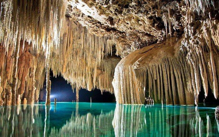 Романтичні місця на Землі - Підземна річка в Мексиці