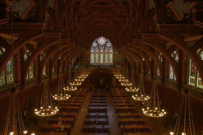 Знаменитые университеты мира, фото - Гарвардский университет