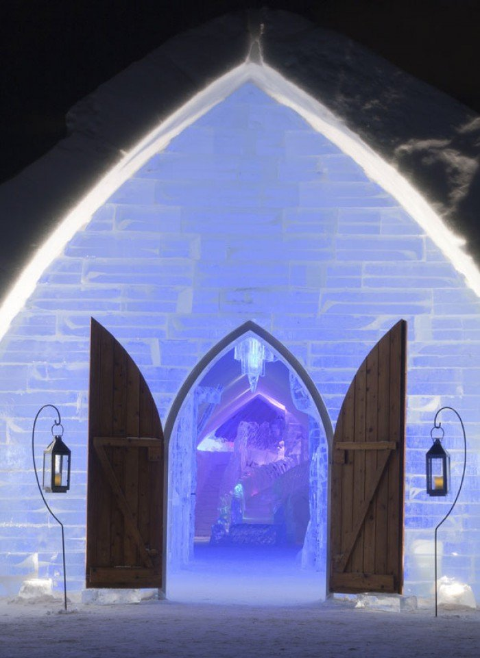 """Ледяной отель """"Hotel of Ice"""", Канада - фото 5"""