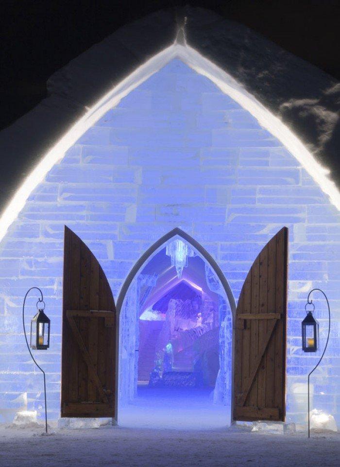 "Крижаний готель ""Hotel of Ice"" в Канаді - фото 6"