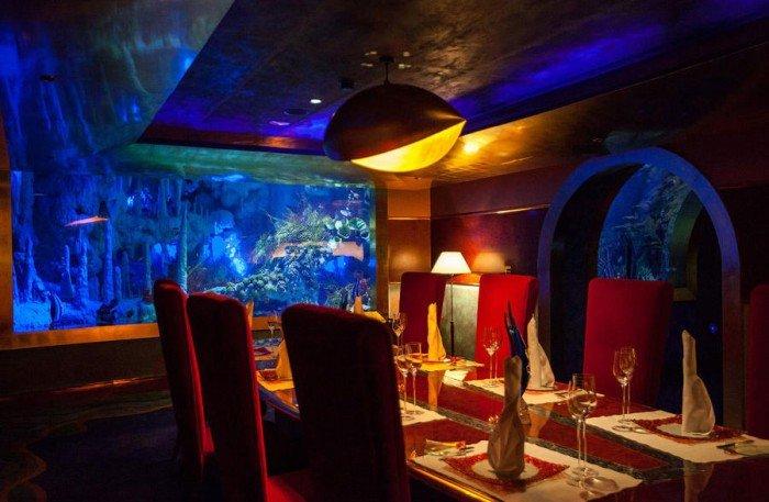 Ресторан акваріум «Аль Махара» в Дубаї, фото 9