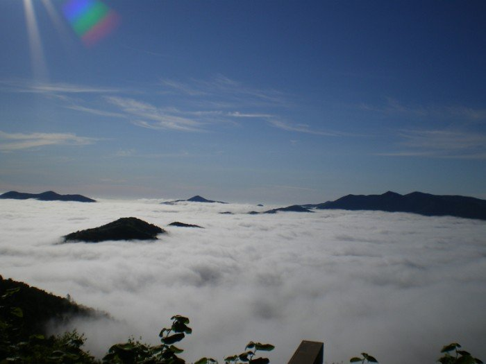 Красивые и интересные места Японии - Терраса Ункай, фото 7