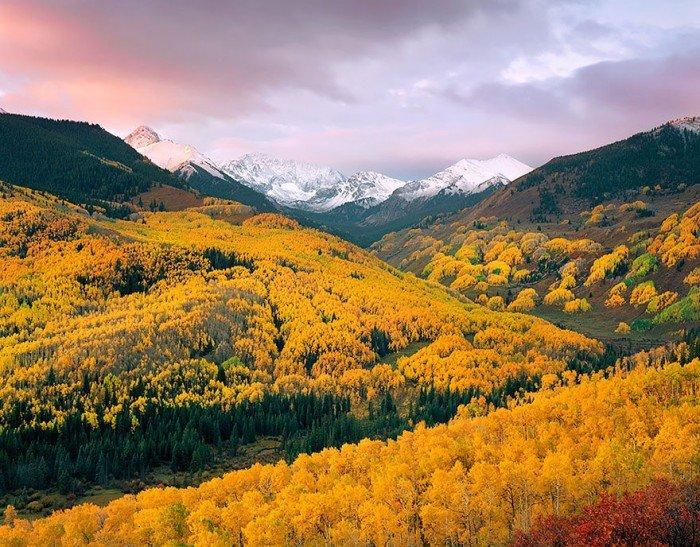 Красивые осенние фото. Капитолийская долина летом