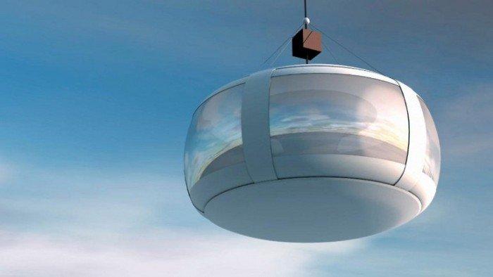 Необычный воздушный шар