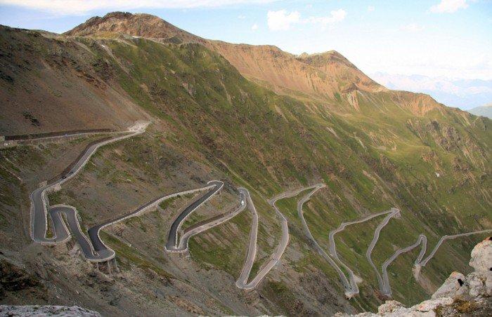 Найкрасивіші дороги світу - Перевал Стелвіо