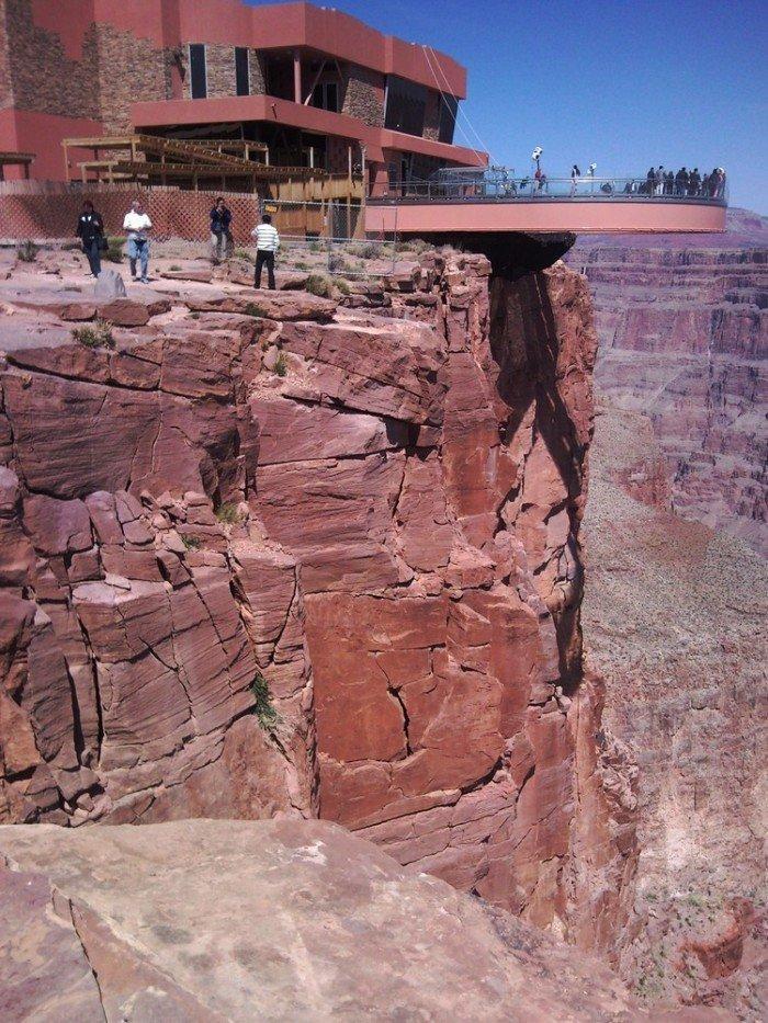 Оглядовий майданчик Skywalk над Великим Каньйоном(США) - фото 4