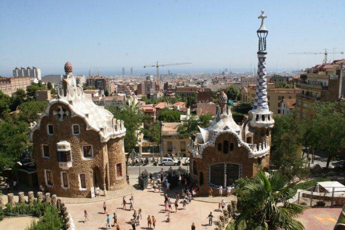 Парк Гуеля в Барселоні - фото 2