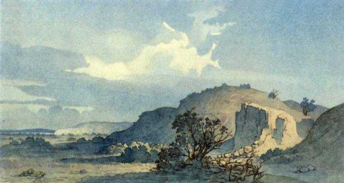 Тарас Шевченко – художник. Гористий берег острова Ніколая