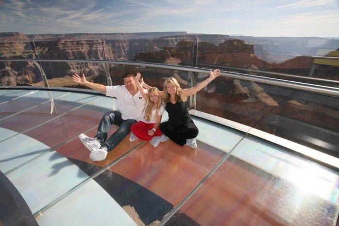 Смотровая площадка Skywalk над Большим Каньоном(США) - фото 5